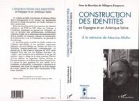 Milagros Ezquerro - Construction des identités en Espagne et en Amérique latine - La part de l'Autre, à la mémoire de Maurice Molho, [colloque international L'un et-ou l'autre, Université de Caen, mai 1994].