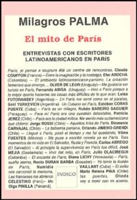 Milagros Palma - El mito de Paris - Entrevistas con escritores latinoamericanos en Paris.