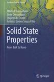 Mildred-S Dresselhaus et Gene Dresselhaus - Solid State Properties - From Bulk to Nano.