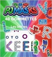 Milkids - Les lettres 40 gommettes Pyjamasques.