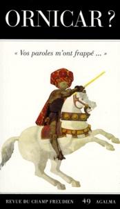 Miller Jacques-Alain et  Laurent Eric - Avant le cataclysme.