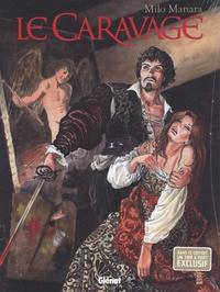 Milo Manara - Le Caravage  : Coffret en 2 volumes : Tome 1, La palette et l'épée ; Tome 2, La Grâce - Avec 1 illustration.
