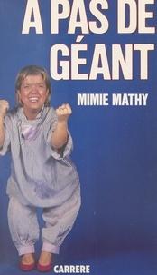 Mimie Mathy et Yvan Burger - À pas de géant.