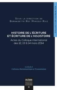 Ecriture de lHistoire et Histoire de lécriture.pdf