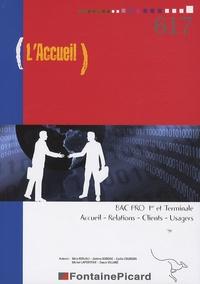 Mina Berjali et Jérôme Borgne - L'accueil - BAC PRO 1e et Terminale Accueil - Relations - Clients - Usagers.