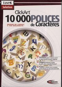 Mindscape - 10 000 polices de caractères.