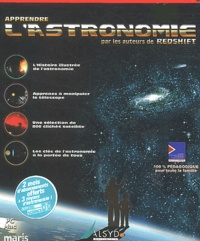 Anonyme - Apprendre l'astronomie. - CD-ROM.