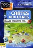 Collectif - Cartes routières France et Europe - CD-ROM.