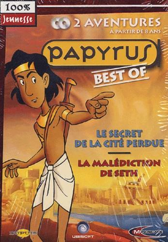 Mindscape - Coffret Papyrus Le secret de la cité perdue La malédiction de Seth. - 2 CD-ROM.
