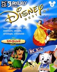 Collectif - Disney Best Of 3 jeux d'action 4/8 ans : La Belle et la Bête. Lilo et Stitch, Ohana. Les 102 dalmatiens, les chiots disparus - CD-ROM.