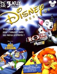 Collectif - Disney Best Of 3 jeux d'action 6 ans et plus : Les 102 dalmatiens à la rescousse. Buzz l'éclair.  Winnie l'ourson, la chasse au miel de Tigrou - CD-ROM.