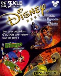 Collectif - Disney Best Of 3 jeux d'action 8 ans et plus : Aladdin, la revanche de Nasira. Dingo Extrême Skateboarding. Dinosaure - CD-ROM.