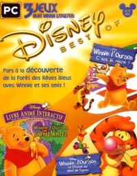 Disney - Disney Best Of Winnie l'ourson : C'est la récré, Winnie l'ourson et l'arbre à miel, Winnie l'ourson la chasse au miel de Tigrou - DVD-ROM.