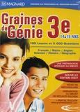 Mindscape - Graine de génie 3e - 100 leçons et 5000 questions, DVD-ROM.
