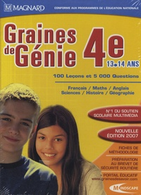 Mindscape - Graines de Génie 4e - DVD-ROM.
