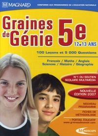 Magnard - Graines de Génie 5e 12-13 ans - DVD-ROM.