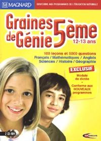 Mindscape - Graines de Génie 5e - 2 CD-ROM.