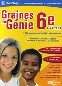 Magnard - Graines de Génie 6e 11-12 ans - DVD-ROM.