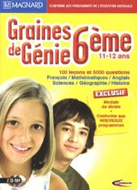 Mindscape - Graines de Génie 6e - 2 CD-ROM.