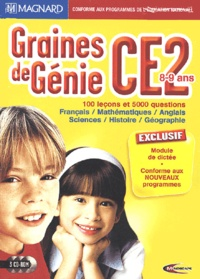 Mindscape - Graines de Génie CE2 - 3 CD-ROM.