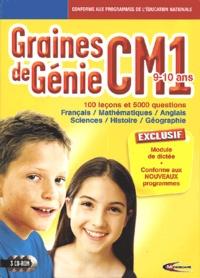 Mindscape - Graines de Génie CM1 - 3 CD-ROM.