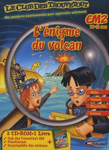 Mindscape - L'énigme du volcan. 3 Cédérom