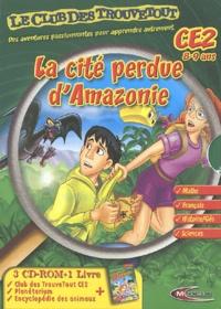 Mindscape - La cité perdue d'Amazonie CE2 - 3 CD-ROM + 1 livre.