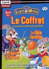 Mindscape - Lapin Malin  : Coffret : La fête foraine et La chasse au trésor - 2 CD-ROM.