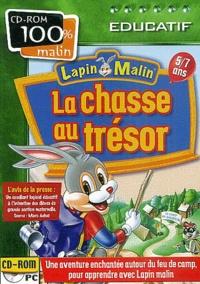 Collectif - Lapin malin, La chasse au trésor 5/7 ans. - CD-ROM.