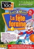Collectif - Lapin malin, La fête foraine 3/4 ans - CD-ROM.