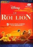 Disney - Le Roi Lion 9 jeux de vitesse d'adresse et de rugissement ! - 2 CD-ROM.