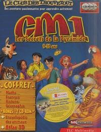 Collectif - Les secrets de la pyramide CM1 - 3 CD-ROM.