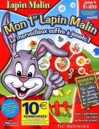 Collectif - Mon 1er Lapin Malin le merveilleux coffre à jouets jusqu'à 3ans - CD-ROM.