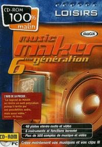 Collectif - Music maker 6ème génération - CD-ROM.