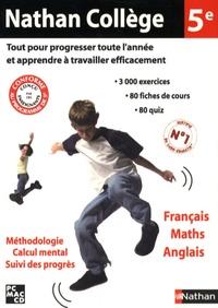 Nathan - Nathan collège 5ème français maths anglais - CD-ROM.