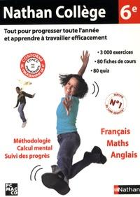 Nathan - Nathan collège 6ème français maths anglais - CD-ROM.