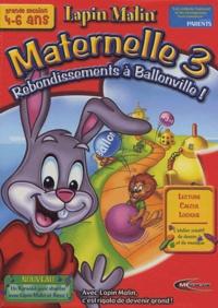 Mindscape - Rebondissement à Ballonville - Maternelle 3, 4-6 ans.