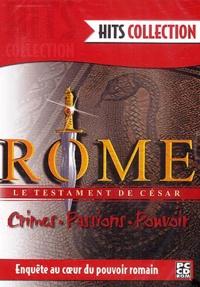 Collectif - Rome, le testament de César - CD-ROM.