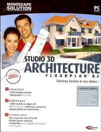 Mindscape - Studio 3D Architecture Floorplan 8.2 - 2 CD-ROM et un manuel.