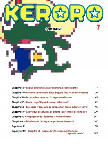 Keroro Tome 7