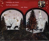 Minedition - Calendrier de l'Avent Noël aux chandelles.