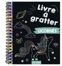 Minedition - Licornes - Livre à gratter.