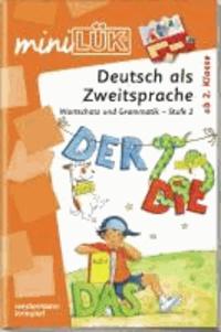 miniLÜK. Wortschatz und Grammatik - Stufe 2.