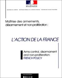 Ministère Affaires Etrangères et  Ministère de la Défense - .