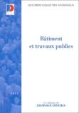 Ministère Affaires Sociales - Bâtiment et travaux publics.