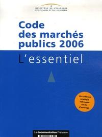 Ministère de l'Economie - Code des marchés publics. 1 Cédérom