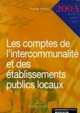 Ministère de l'Economie - Les comptes de l'intercommunalité et des établissements publics locaux.