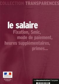 Ministère de l'Emploi - Le salaire.