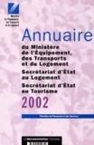 Ministère de l'Equipement - .