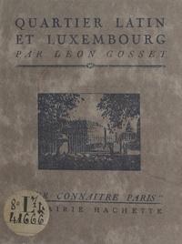 Ministère de l'Instruction pub et  Ministère des affaires étrangè - Quartier Latin et Luxembourg.